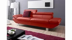 Polstermöbel Mit Dampfreiniger Säubern : 3er sofa carrier polsterm bel mit relaxfunktion rot 223 cm ~ Markanthonyermac.com Haus und Dekorationen