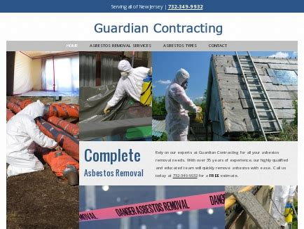 guardian contracting asbestos removal toms river nj
