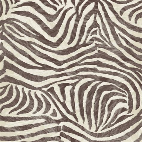 Textured Animal Print Wallpaper - graham brown zebra print animal faux fur textured
