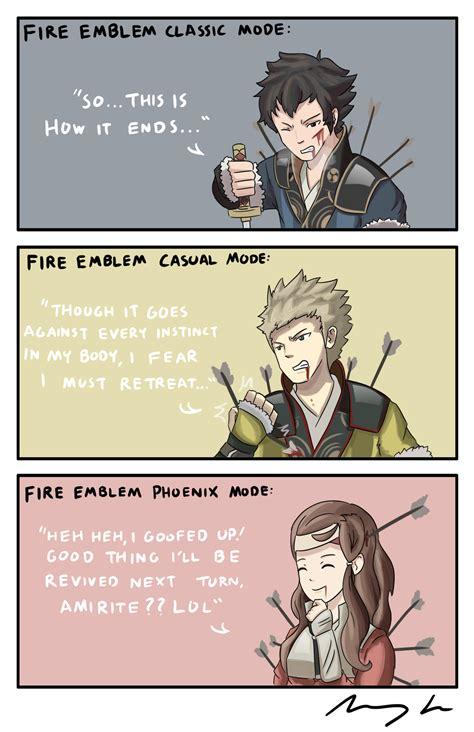 Fire Emblem Fates Memes - the modes of fire emblem fire emblem know your meme