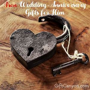 traditional 6th wedding anniversary gifts for him iron With 6th wedding anniversary gift ideas for him