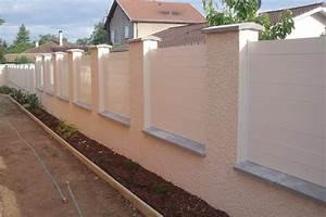 Cloture Pvc Sur Muret : cloture pvc haute garonne ~ Melissatoandfro.com Idées de Décoration