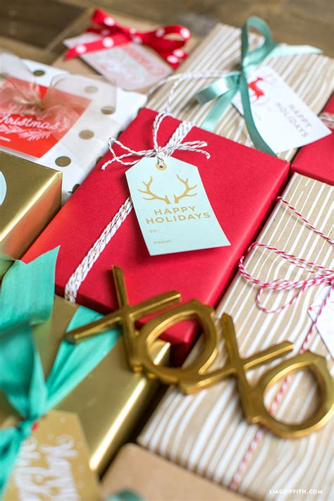 printable holiday gift labels tags   lia griffith studio worldlabel blog