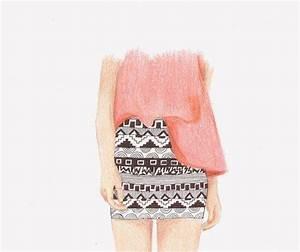 aztec, aztec print, draw, drawing, fashion - image #305379 ...