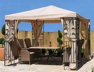 dasversandhaus24de garten pavillon blatter 3x3m sand With französischer balkon mit pavillon zelt garten