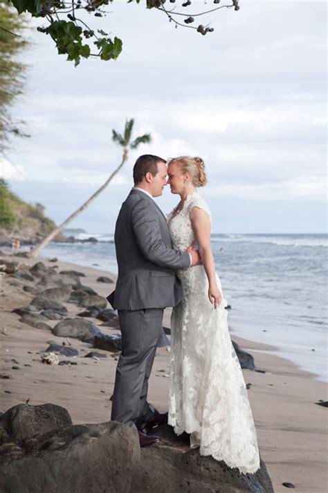 vintage luxe hawaiian wedding