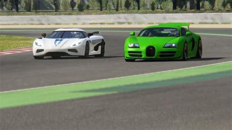 This was a great memory from 2014! Battle Bugatti Veyron Super Sport vs Koenigsegg Agera ...