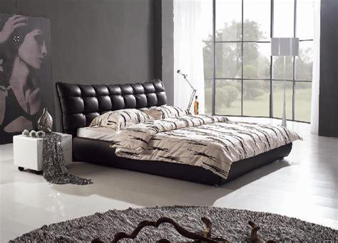 chambre en italien meubles de chambre à coucher lit en cuir italien