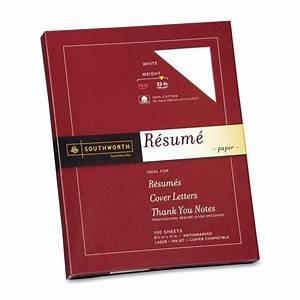 southworth 100 cotton linen resume paper set of 100 With southworth resume paper