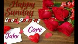 Good Morning wishes Happy Sunday Have A Nice Day - YouTube