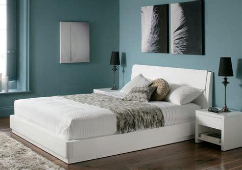 storage bed white aden high gloss ottoman storage bed white