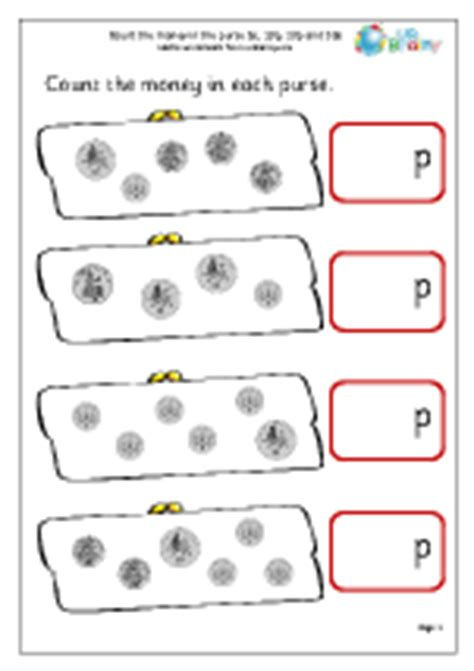 more counting money 2 money maths worksheets for year 2