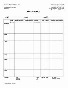 7 best images of 7 day diabetic food log printable With diabetic diary template