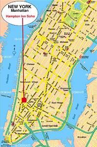 Plan De Manhattan : h tel 3 toiles hampton inn soho special reveillon new ~ Melissatoandfro.com Idées de Décoration