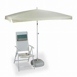 sonnenschirm rechteckig mit polyester bezug kaufen With französischer balkon mit sonnenschirm logo