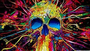 Cute Skull Art Hd Wallpaper All Wallpapers Desktop
