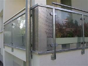 Glas Für Balkongeländer : balkongel nder aus verzinktem vierkantrohr und glas ~ Sanjose-hotels-ca.com Haus und Dekorationen