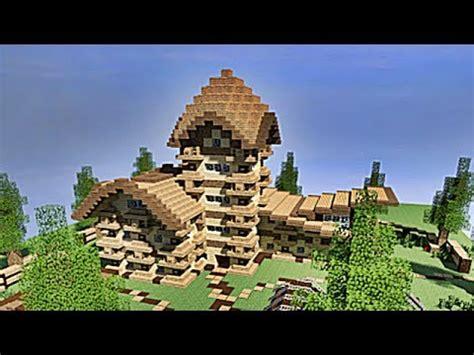 minecraft maison en bois minecraft tuto maison enti 232 rement en bois 1 4