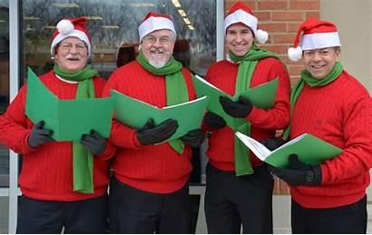 Singing Carol Christmas Carolers Fleet