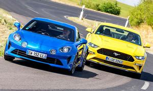 Bmw M4 Competition Ford Mustang Bullitt Test by Ford Mustang Autozeitung De