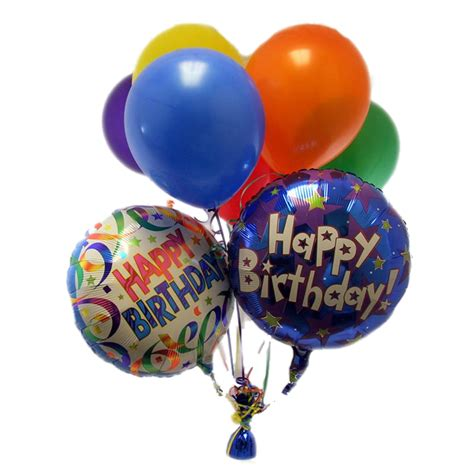 happy birthday balloons png transparent images png