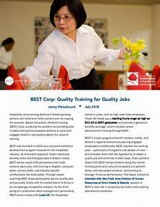 BEST Corp: Quality Training for Quality Jobs