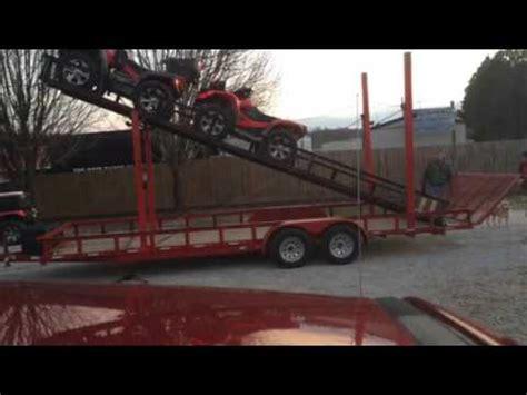 Double Deck ATV Trailer