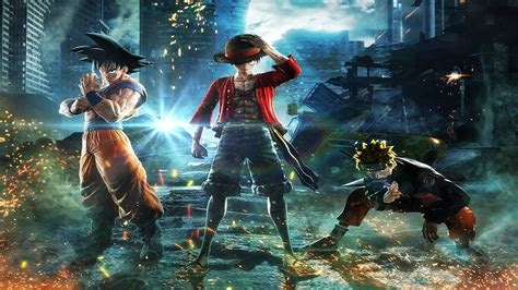 jump force wallpapers  ultra hd  gameranx
