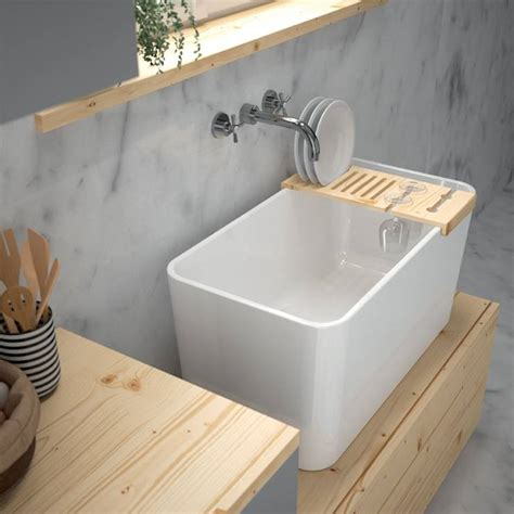 modern kitchen sinks   rustic touch