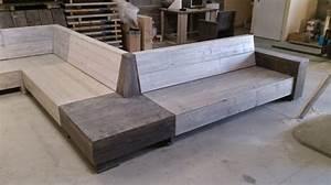 Canape Bois Exterieur : fabriquer un canap lit en bois royal sofa id e de canap et meuble maison ~ Teatrodelosmanantiales.com Idées de Décoration