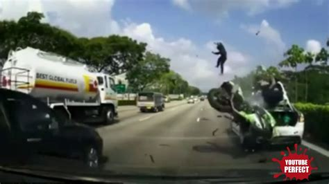 Worst Motorcycle Crash Ever
