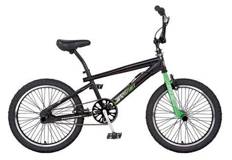bmx 20 zoll bmx fahrrad 20 zoll schwarz gabel neongr 252 n rex otto