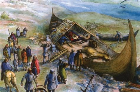Viking Boats Found by 1 000 Year Viking Boat Burial Discovered Market
