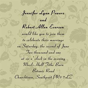 wedding invitation wording samples bride and groom With wedding invitations sample wording bride and groom inviting