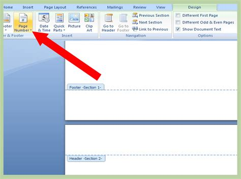 2 easy ways to add page numbers or page x of y page numbers in word