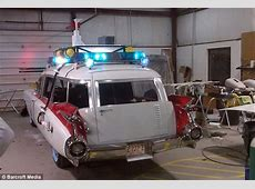 Ghostbusters fanatic spends $20,000 making his own Ecto1