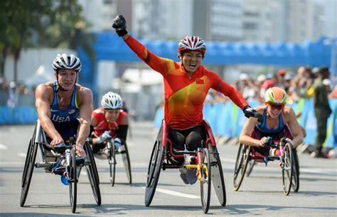 jeux de fauteuil roulant la chine domine toujours le monde paralympique la croix