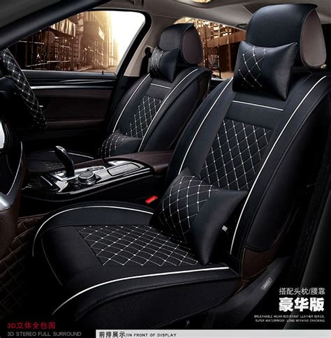 siege auto alfa romeo car seat covers cushion auto accessories pad pu black