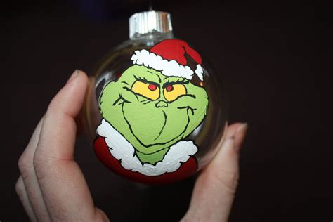 grinch christmas ball by alf white613 on deviantart