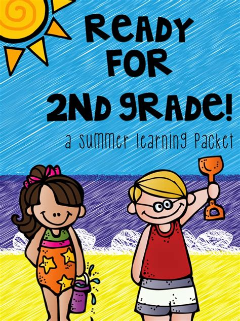 Part Two Summer Learning Activities For Rising Second Graders (summer Homework For First Grade
