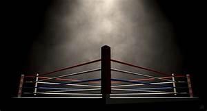 Boxing Ring Spotlit Dark Digital Art by Allan Swart