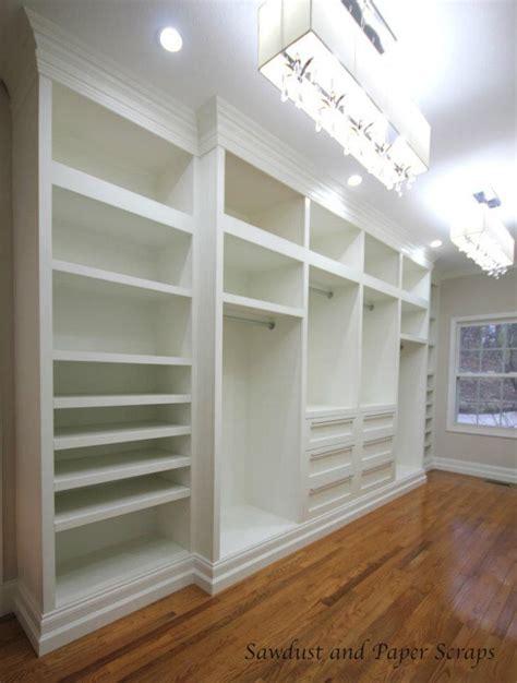master closet built ins sawdust girl