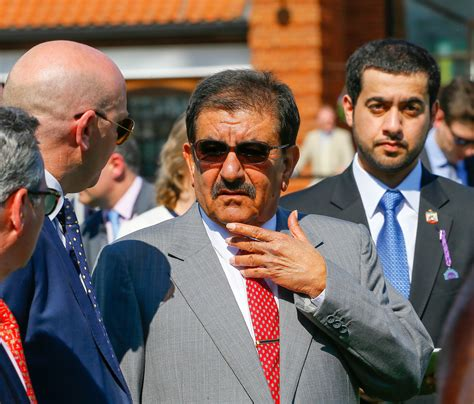 "Crown prince of dubai, h.h sheikh hamdan bin mohammed bin rashid al maktoum, with his uncle sheikh saeed bin maktoum bin juma al maktoum, and mr. ""Absolutely passionate about racing"": Sheikh Hamdan Al Maktoum dies, aged 75"