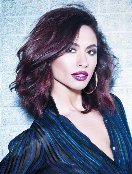 25 Best Purple Hair Ideas Images On Pinterest Purple