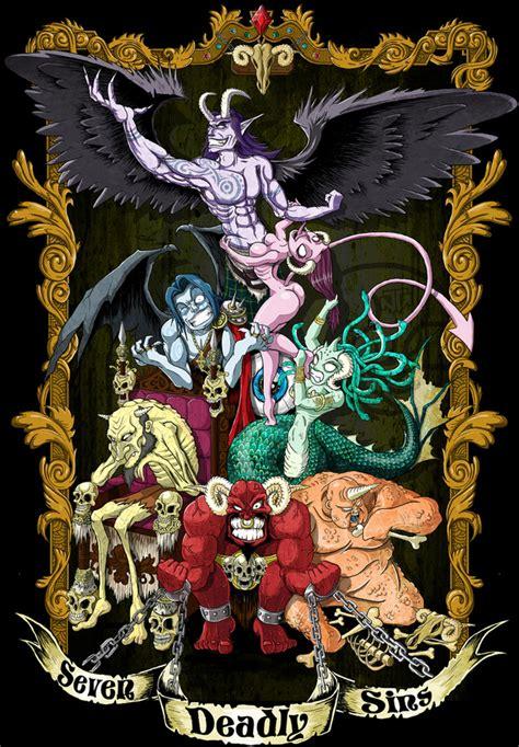 deadly sins supernatural ties wiki fandom