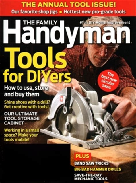 year subscription  family handyman magazine