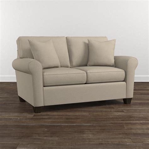 Bassett Loveseat by Brewster Loveseat Living Room Bassett Furniture