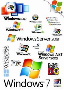 Windows OS Logo Compilation by WillyWonket on DeviantArt