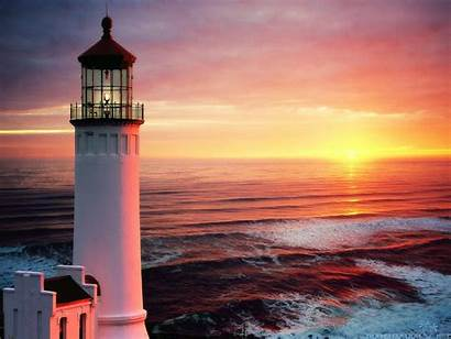 Lighthouse Sunset Wallpapers Background Lighthouses Desktop Cool