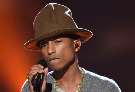 Pharrell Williams Happy To Join 'the Voice'